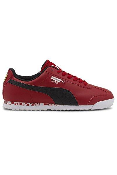 Puma FERRARI RACE ROMA Kırmızı Erkek Sneaker Ayakkabı 101119003