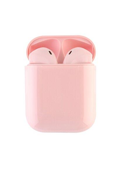 Gomax I12 Dokunmatik Bluetooth Kulaklık Pembe