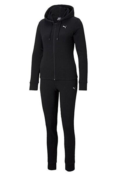 Puma Kadın Kapüşonlu Sweatshirt Classic Hd - Siyah