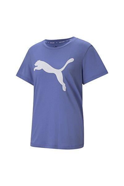Puma EVOSTRIPE TEE Lila Kadın T-Shirt 101085570