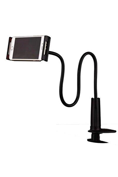 HMXPLUS Akrobat Masa Telefon Tablet Tutucu Masa Tutacağı Tripod