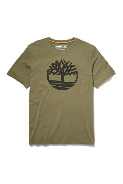 Timberland SS KENNEBEC RIVER TREE LO Haki Erkek T-Shirt 101096734