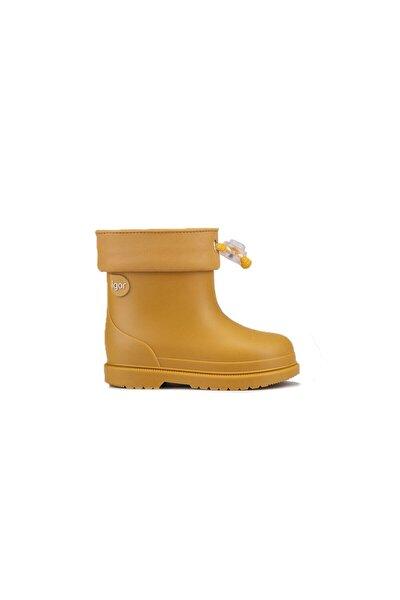 IGOR Unisex Çocuk Sarı Bımbı Mc Mostaza Mustard  Bot W10237-080