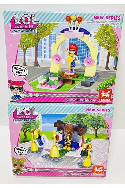 LOL Surprise Pop Lego Oyuncak 2 Model Birden Toplam 122 Parça