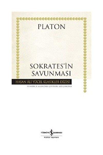 TÜRKİYE İŞ BANKASI KÜLTÜR YAYINLARI Sokrates'in Savunması - Hasan Ali Yücel Klasikleri Platon