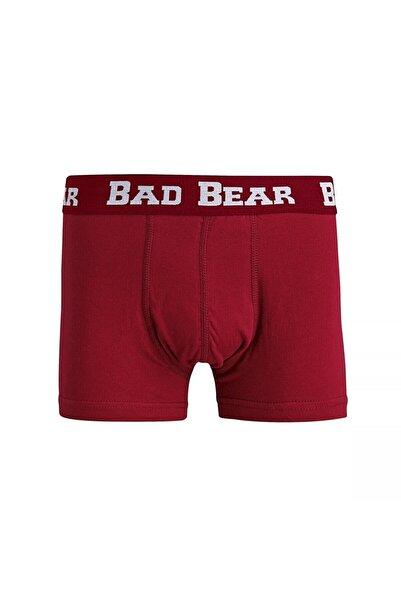 Bad Bear Erkek Boxer Solıd Crımsonred