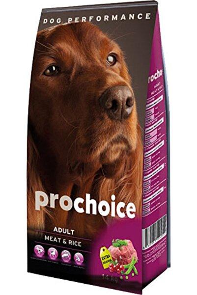 Pro Choice Adult Meat Rice Etli Yetişkin Köpek Maması 12 kg