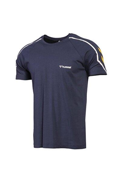 HUMMEL Erkek Mavi Hmladmon T-shirt