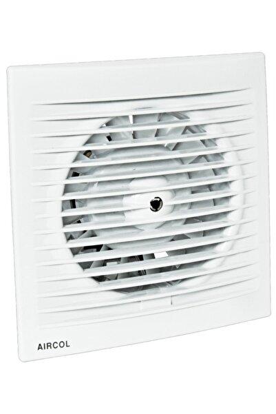 Aircol 150lik Sessiz, Dekoratif, Plastik Banyo Fanı / Aspiratörü 300 M³/h