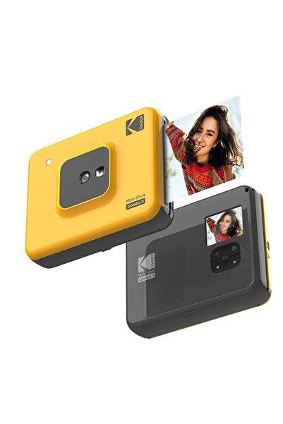Kodak Mini Shot Combo 3 - Anında Baskı Dijital Fotoğraf Makinesi - Sarı