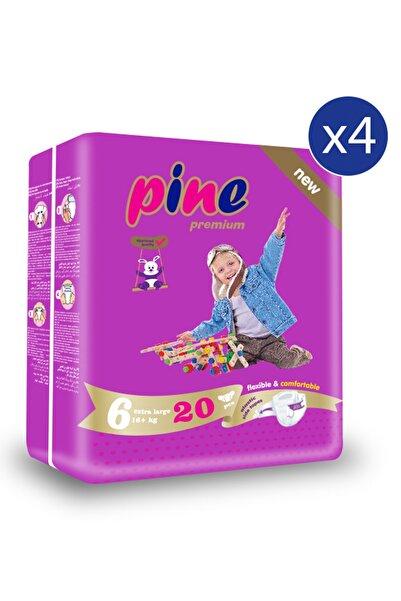 Pine X-large (15+ Kg ) Ikiz Paket 80 Adet Bebek Bezi