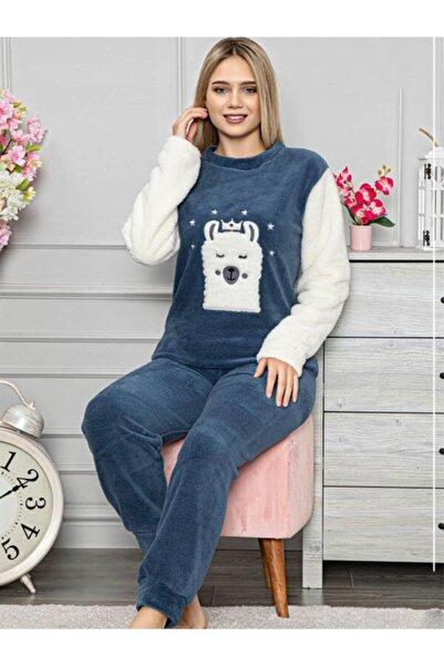 Sude 7032 Peluş Polar Pijama Takımı