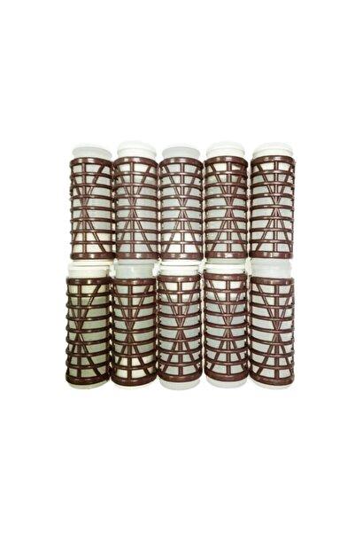 FUMO Isıtmalı Bigudi 10'lu - Kahverengi