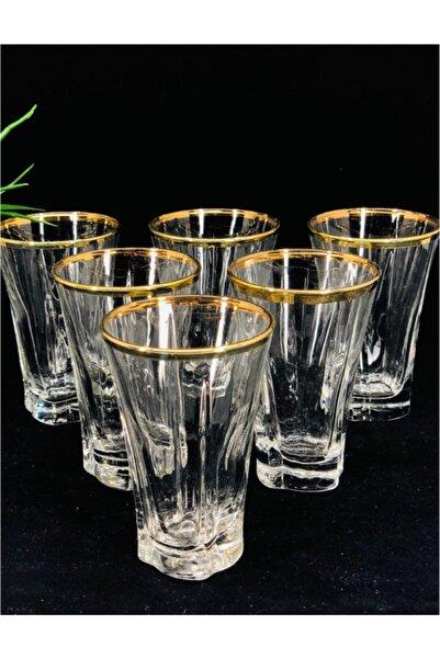 LAV Agız Yaldızlı 6'lı Kahve Yanı Bardağı Tru309