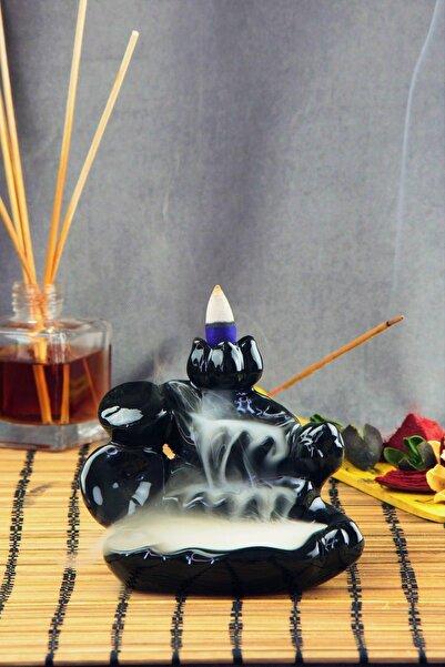 iyibifikir Zen Geri Akış Mistik Şelale Tütsülük + 5 Adet Tütsü Konisi 3-V