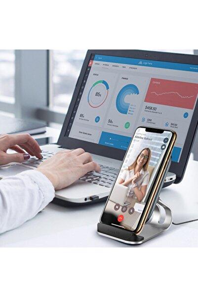 Lifeiletisim Kuula Iphone11,11pro,xs 8-sam Wireless Qi Kablosuz Stand Şarj Cihazı 15w