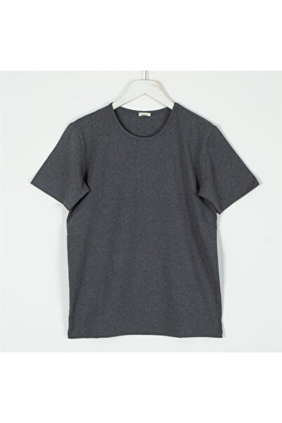Chakra Erkek Gri T-Shirt