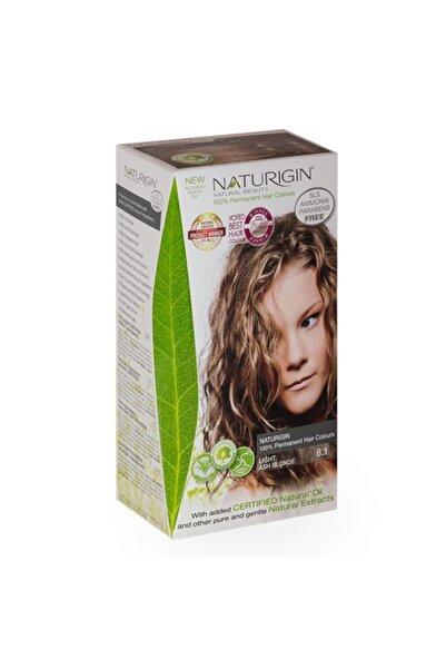 Naturigin Organik Içerikli Saç Boyası-8.1 Açık Kül Sarısı