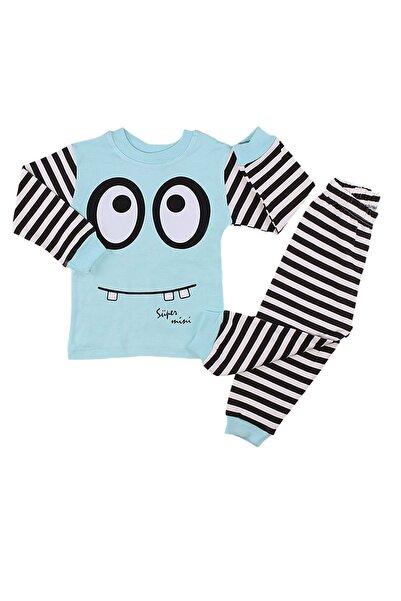 Babyboy Erkek Bebek Çocuk 2 Li Alt Üst Pijama Eşofman Takımı 1/3 Yaş
