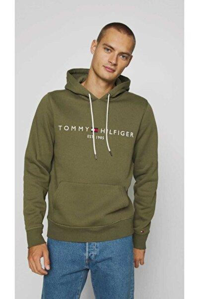 Tommy Hilfiger Jeans Logo Erkek Sweatshirt