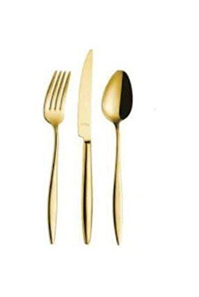 Elegant Gold Pvd 24 Parça Çatal Kaşıt Bıçak Takımı 58ckb015170