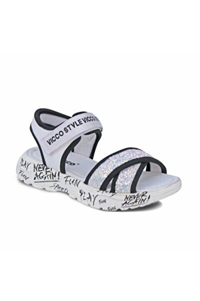 Vicco 321.F20Y.374 Beyaz Kız Çocuk Sandalet 100578724