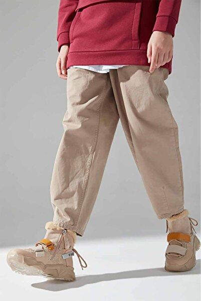 Mizalle Sim Detaylı Bootie Sneaker (Bej)