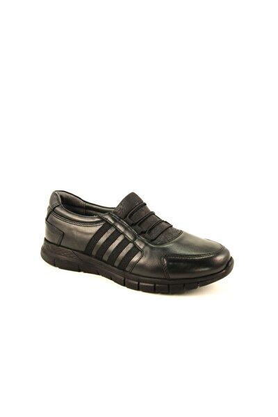 Forelli Kadın Siyah Hakiki Deri Ayakkabı 29410