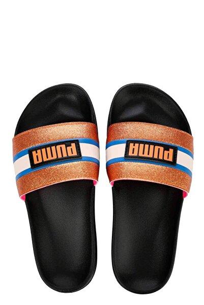 Puma Leadcat Ftr 90s Pop Wns Kadın Terlik Ayakkabı 37262401 Siyah