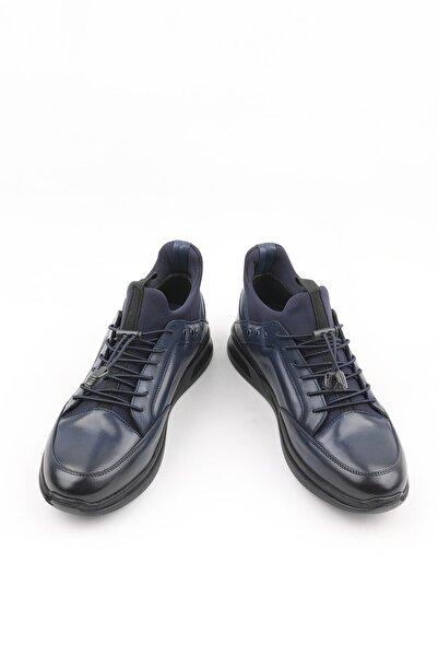 Buffalo Anatomik Lacivert El Yapımı Sneakers