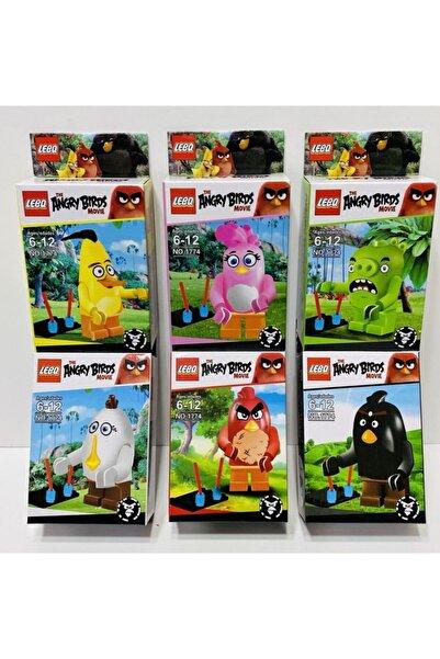 Angry Birds 6 Model Figür Lego Oyuncak Kızgın Kuşlar
