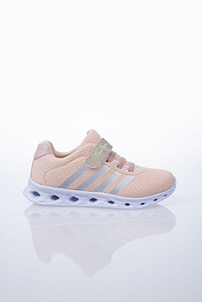 Pierre Cardin Kız Çocuk Pudra Bantlı Spor Ayakkabı
