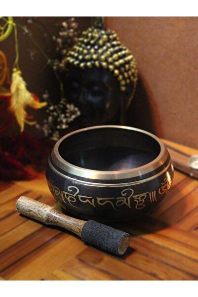 Keskin Meditasyon Çanı Yoga Çanı Tibet Çanağı Singing Bowl 9 Cm