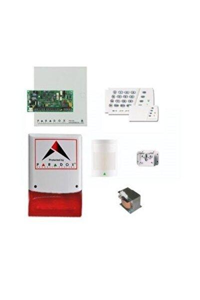 PARADOX Sp-4000 Kablolu Hırsız Alarm Seti (panel + Keypad + Siren + Trafo + 1 Adet Pır Dedektörü)