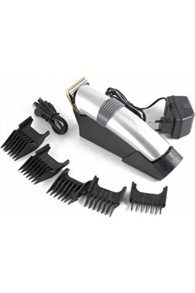 ataşbey Standlı Şarjlı Tıraş Makinesi Saç Sakal Kesme Kiti Traş Makinası Seti Gm-609