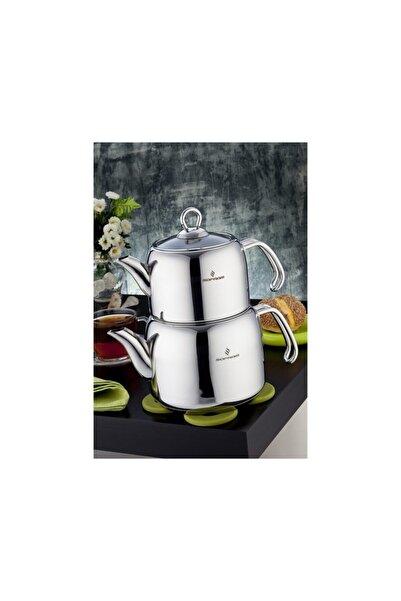 Sofram Soft Çelik Çaydanlık Buhar Kapaklı Mini Boy