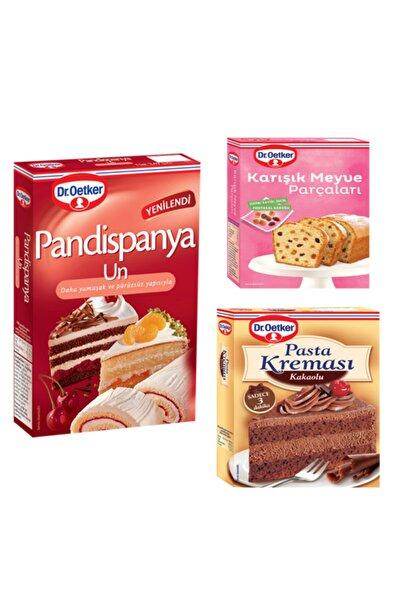 Dr. Oetker Pandispanya Unu,karışık Meyve Parçaları Ve Kakaolu Pasta Kreması Paketi