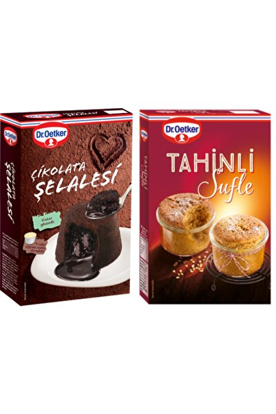 Dr. Oetker Çikolata Şelalesi Ve Tahinli Sufle Paketi