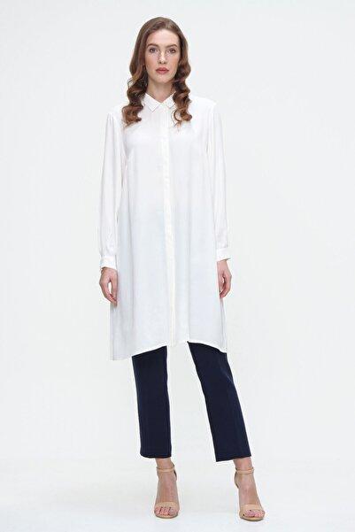 Aker Kadın Beyaz Tunik Bs158349224