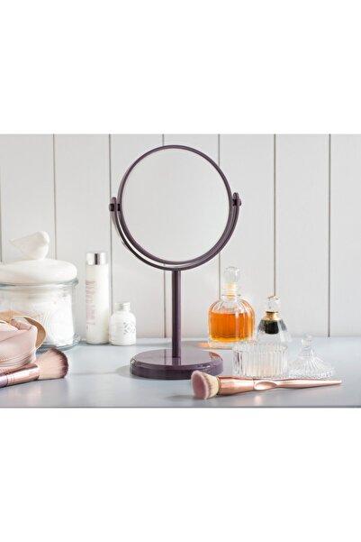 Madame Coco Nera Çift Taraflı Masa Aynası - Koyu Mürdüm