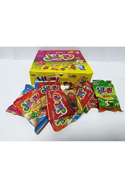 SAADET Jellopy Mix Jelibon Yumuşak Şeker 36 Adet