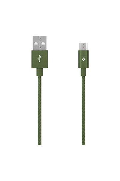 Ttec Alumicable Micro Usb Kablo Yeşil 1.20 Cm - 2dk11hy