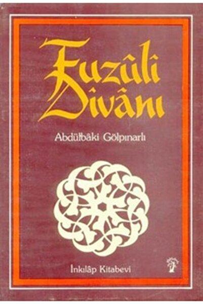 İnkılap Kitabevi Fuzuli Divanı