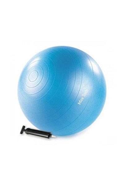 MaxTech 65 Cm Pilates Topu + Şişirme Pompası