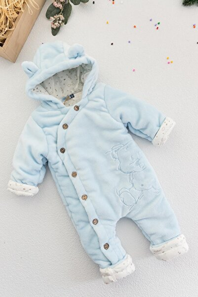 Bebessi Erkek Bebek Mavi Welsoft Astronot Tulum