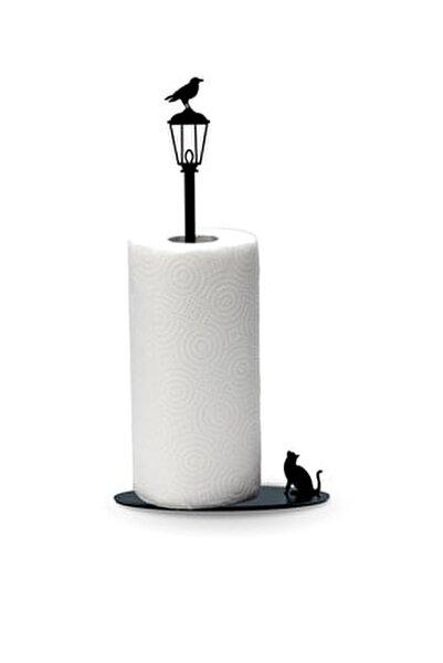 Kağıt Havluluk Kedi Ve Karga Metal Mutfak Kağıt Standı