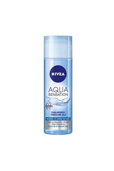 Nivea Aqua Sensatıon Canlandırıcı Yüz Temizleme Jeli 200 ml