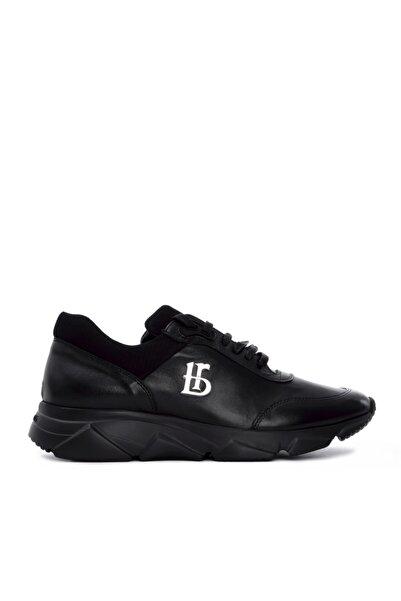 Roberto Botticelli Erkek Siyah Derı Spor Ayakkabı 501 Lu37160