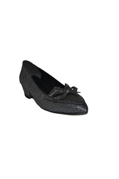 PUNTO 446019 Bayan Topuklu Ayakkabı - - Platin - 38