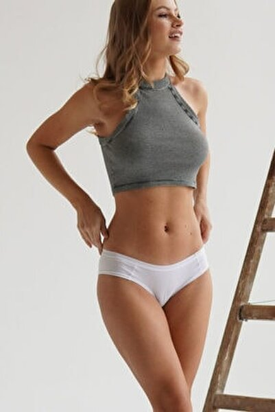 Kadın  3'lü Paket Natural Modal Hıpster -siyah / Beyaz / Ten